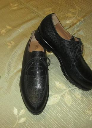 Кожаные туфли ручной работы handmacher германия