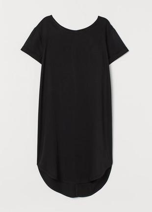 Короткое платье-футболка