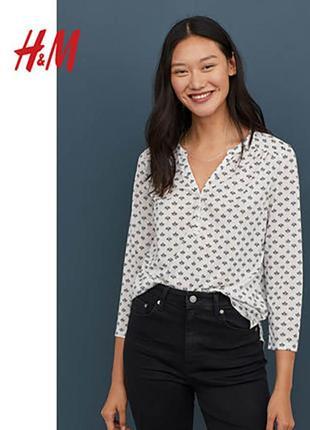 Новая стильная рубашка блузка кофта h&m