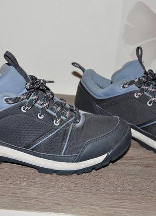25,5 quechua. трекинговые водонепроницаемые кроссовки