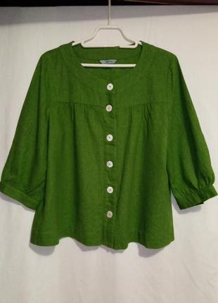 Классная блузка-жакет модного цвета английского бренда
