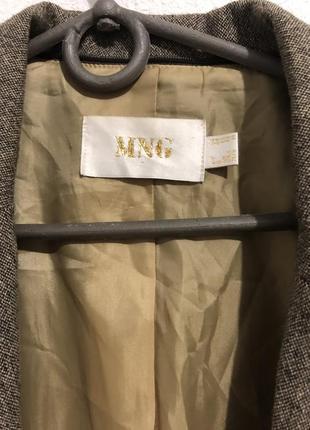 Пиджак mango / серый жакет манго4 фото
