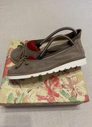 Лаконичные туфли/лодочки с перфорацией
