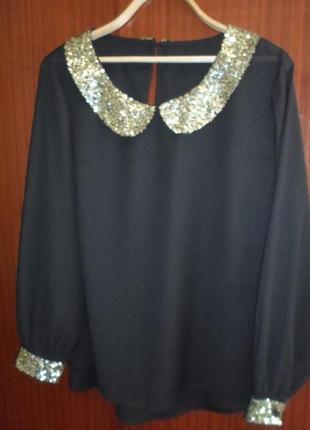Нарядная,красивая блузка 56-58р.simply be