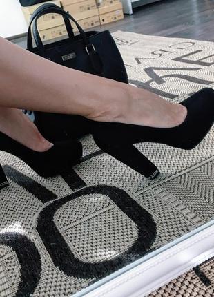 Замшеві туфлі michael kors
