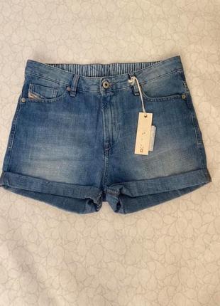 Diesel новые джинсовые шорты