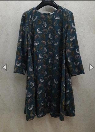 Летящее платье  с рукавом  в оригинальном приник от h&m💃