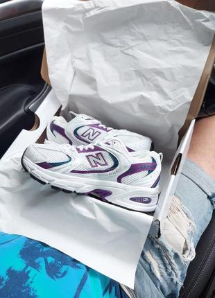 Шикарные женские кроссовки new balance mr 530 наложка