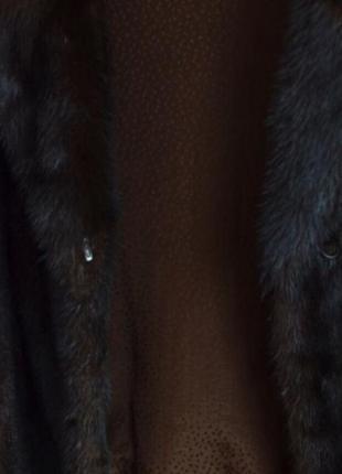 Короткая норковая шуба, автоледи2 фото