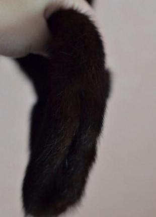 Короткая норковая шуба, автоледи4 фото