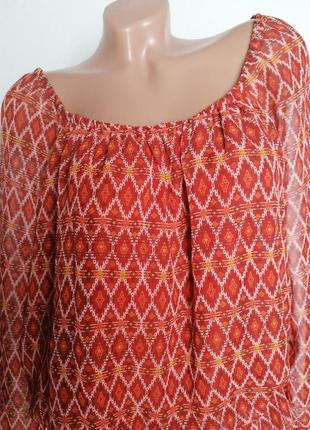 Шифоновая туника, платье, длинная блуза.