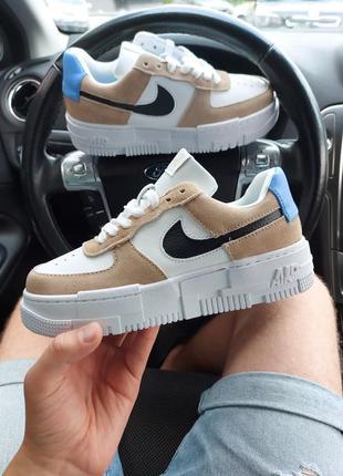 Nike air force 1 low pixel женские кроссовки наложка