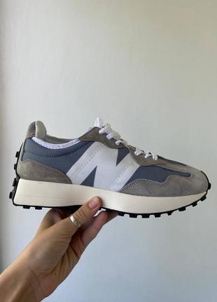Женские кроссовки new balance 327 grey