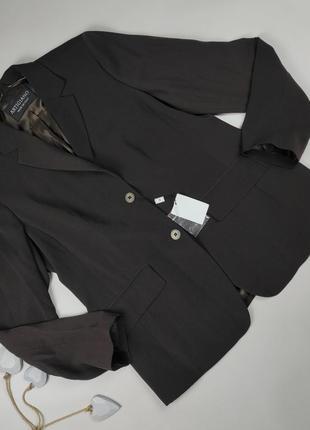 Пиджак жакет новый классный итальянский uk 18/46/xxl