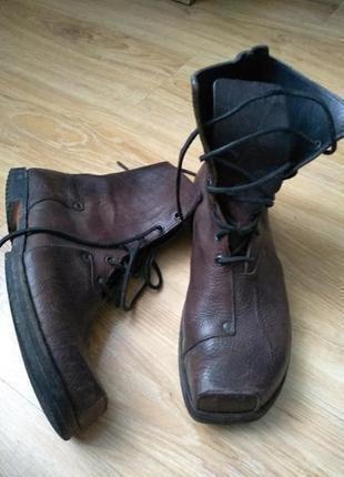Cydwoq кожаные дизайнерские ботинки ручной работы