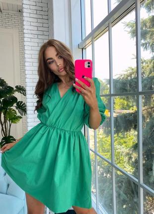 Модное воздушное платье 3463 фото