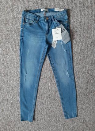 Женские джинсы stradivarius скини 😍размер xs