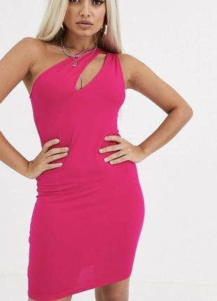 Новое летнее платье с бирками брендовое фуксия asos