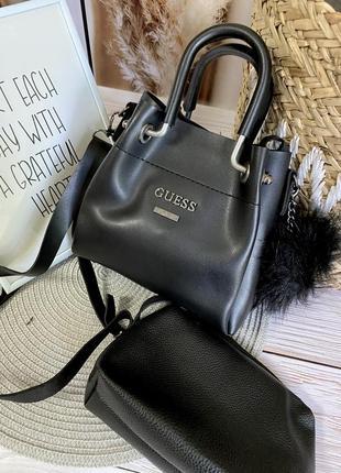 Маленькая сумочка с косметичкой внутри3 фото