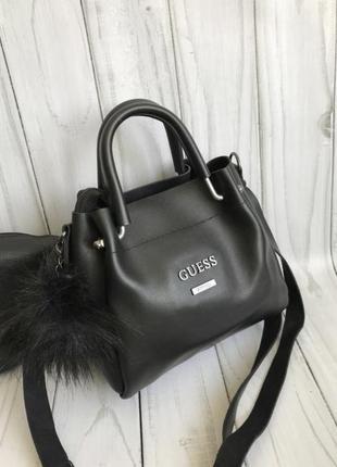 Маленькая сумочка с косметичкой внутри7 фото