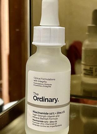 The ordinary - niacinamide 10% + zinc 1% сыворотка с ниацинамидом и цинком