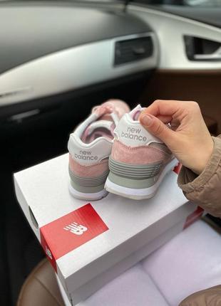 Шикарные женские кроссовки new balance 574 наложка2 фото