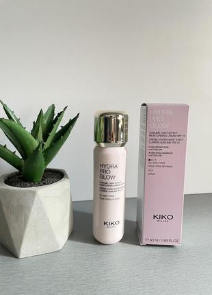 Kiko hydra pro glow крем база под макияж
