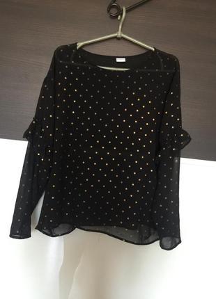 Стильная шифоновая блуза