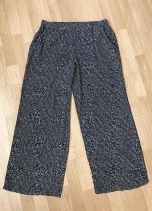Штапельные легкие брюки48-50р