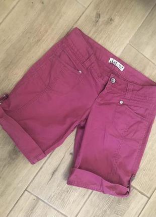 Вельветовые шорты