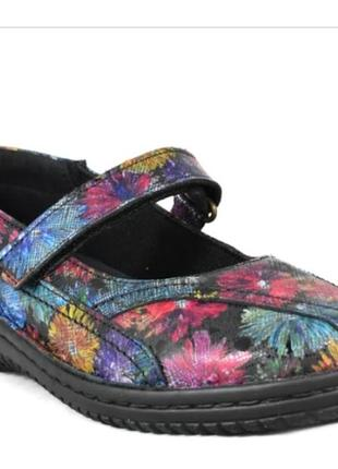 Кожаные туфли loretta испания