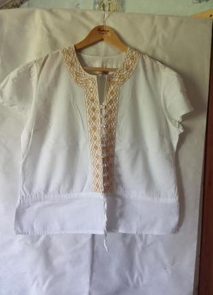 Блуза-вишиванка батал турція