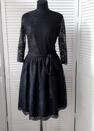 🍀красивое кружевное платье