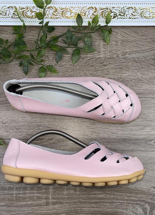 🌿39🌿 европа🇪🇺 кожа. фирменные качественные комфортные туфли
