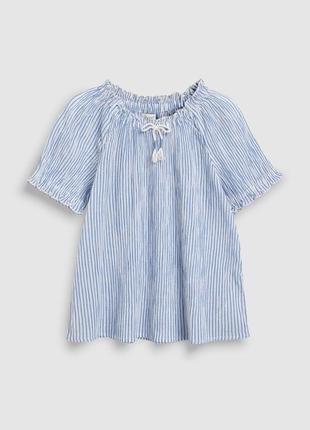 Детская легкая блузка туника next 11-12 лет