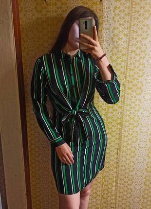Новое платье с завязками спереди