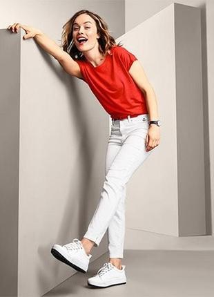 Комфортные джинсы, длинна 7/8 х от тсм tchibo (германия)