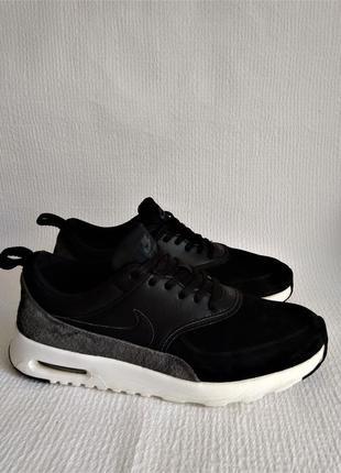Nike оригинальные кожаные кроссовки 38,5