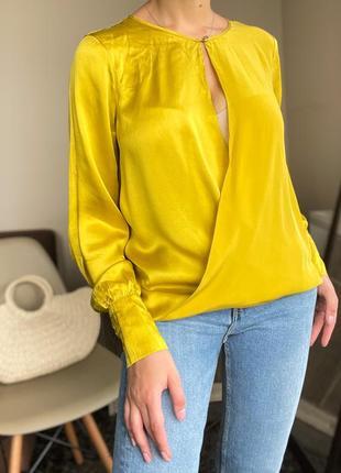 Шёлковая блузка, рубашка marciano guess