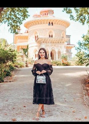 Кружевное платье большого размера батал