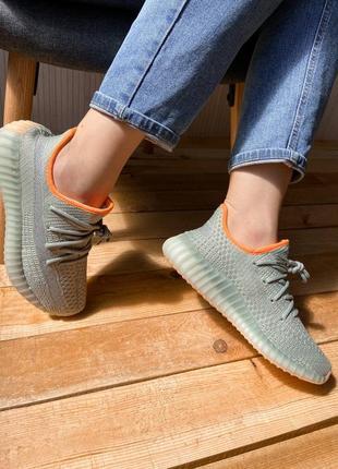 Женские кроссовки adidas yeezy boost 350 v2 linen revealed
