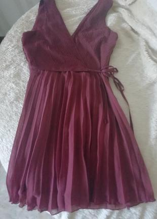 Asos платье гофре новое