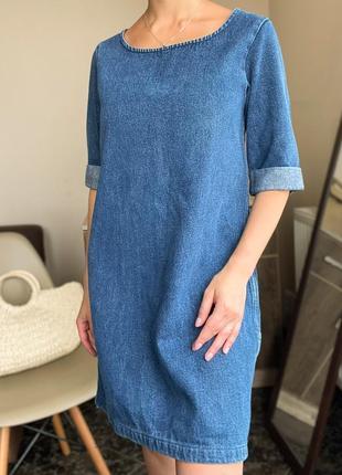 Джинсовое платье monki