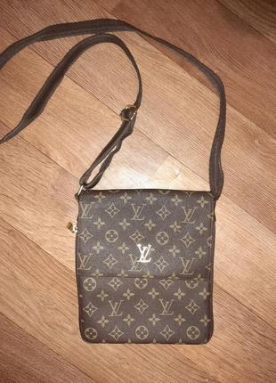 Стильная сумочка известного бренда louis viton!
