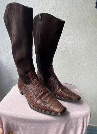 Козаки сапоги ботинки rieker