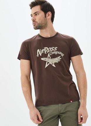 Футболка star wings (brown) от airboss