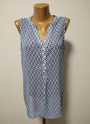 Блуза сине-белая gap / большая распродажа!