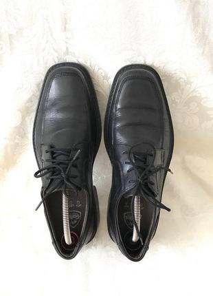 Кожаные туфли мягкие нат кожа
