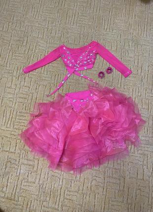 Танцевальное платье для латинской программы