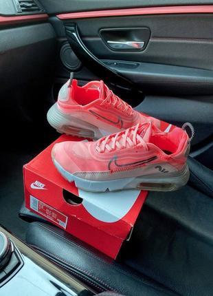 Спортивные розовые кроссовки для девочки nike air max 2090 pink